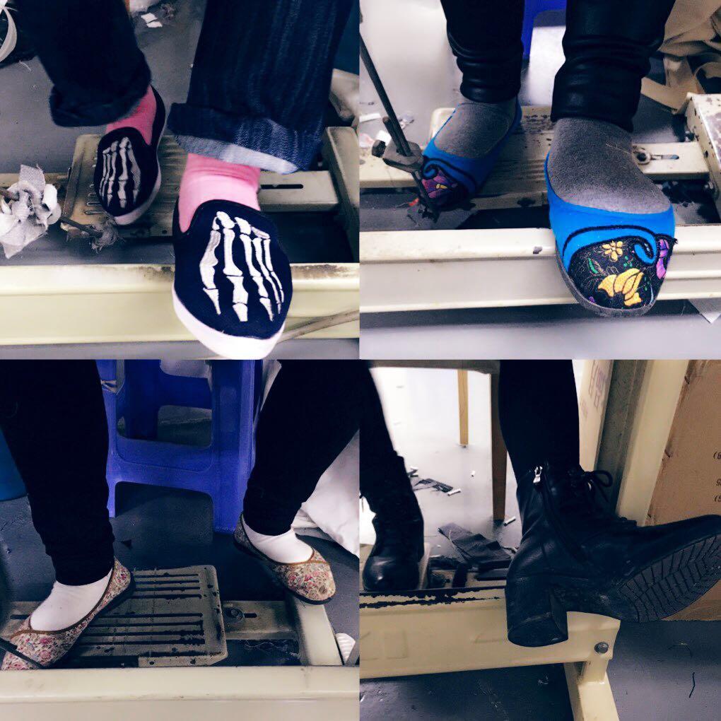 seamstresses shoes