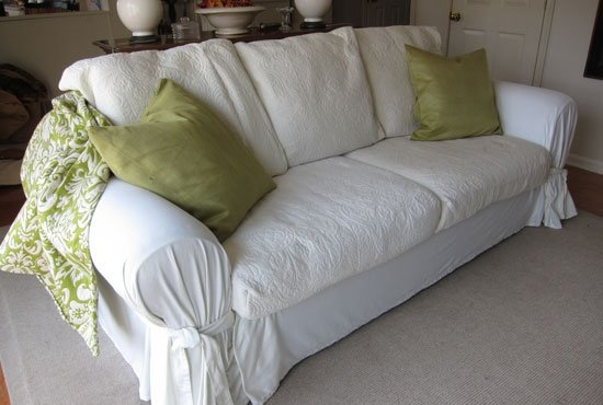 How to diy slipcovers sofa covers for cheap and easy Loveseat slipcovers cheap