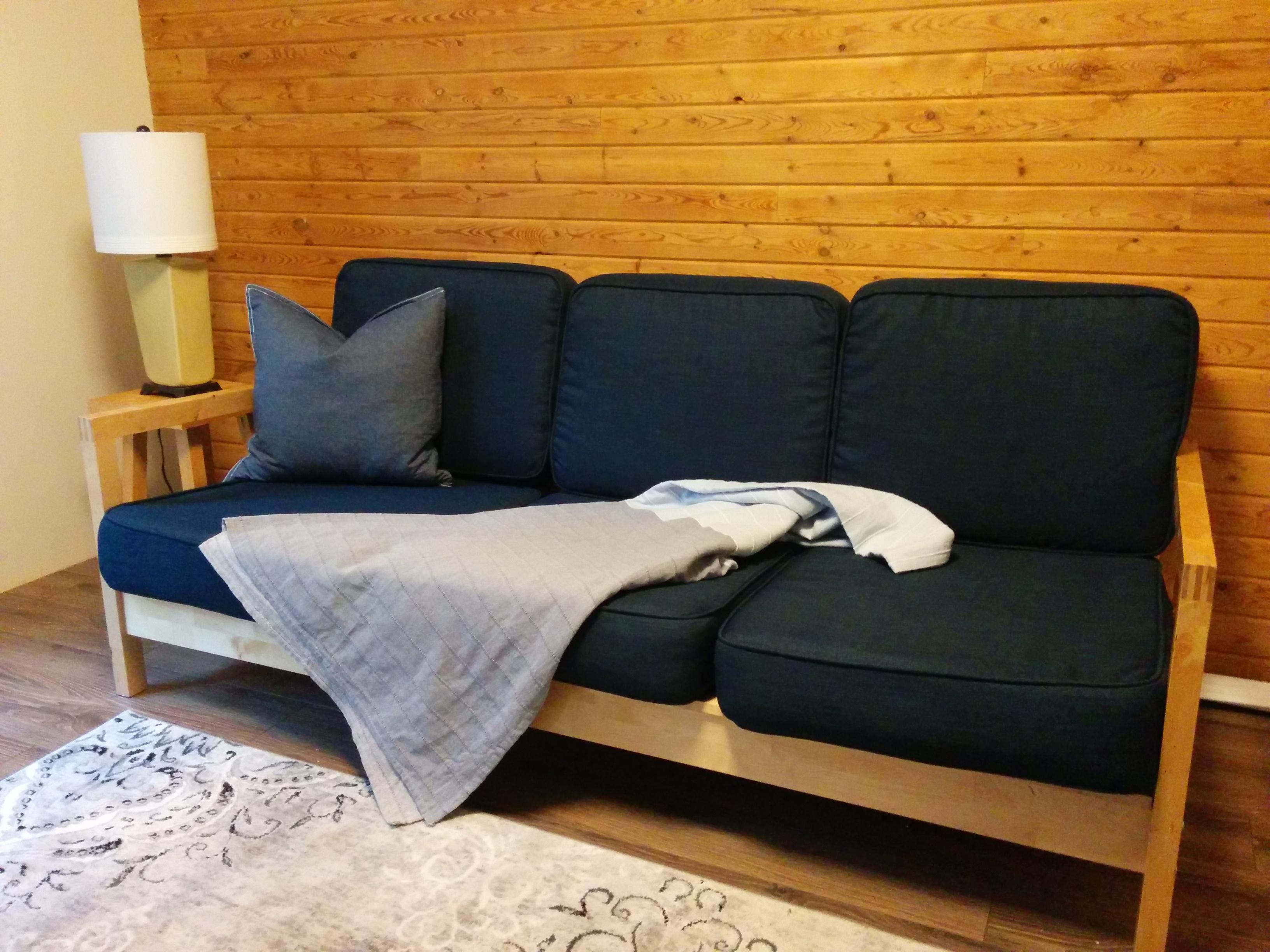 Ikea Lillberg fodera navy blue