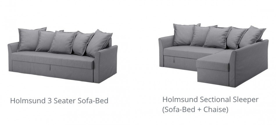 Ikea schlafcouch friheten  IKEA Holmsund Sleeper Sofa / Sofa-Bed Review