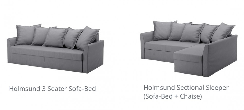 Ecksofa ikea  IKEA Holmsund Sleeper Sofa / Sofa-Bed Review