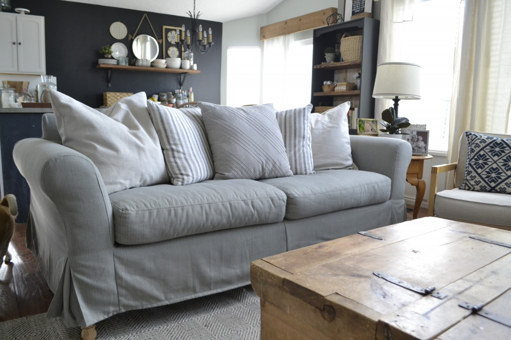 Can my sofa be slipcovered Infographic