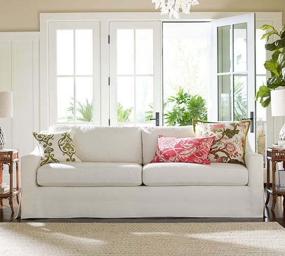 *Those* throw pillows with *those* slipcovers?