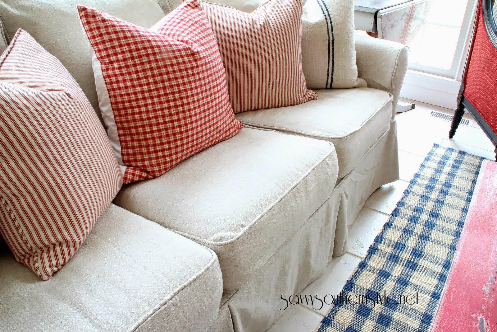 Savvysouthernstyle PB Basic sofa in Kino Natural