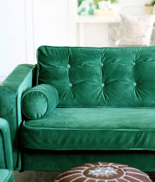 Velvet Sofa Covers Style over Practicality We Dont Think So