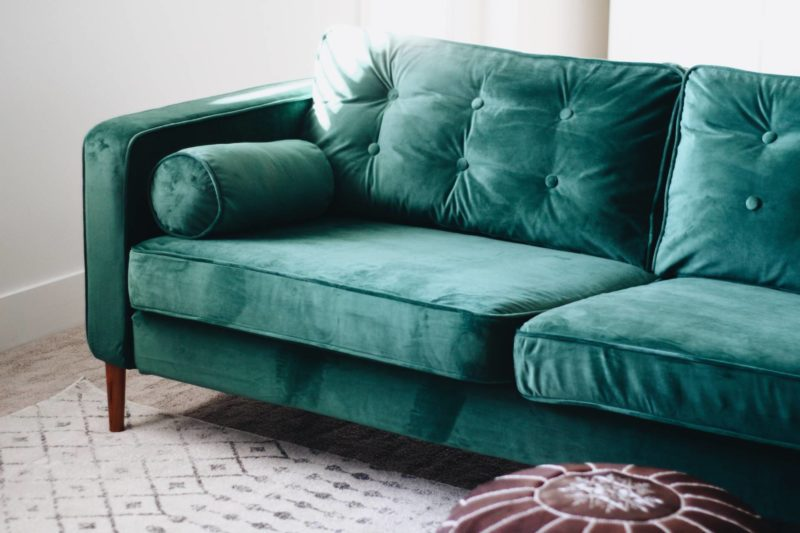 Velvet Sofa Covers Style Over Practicality