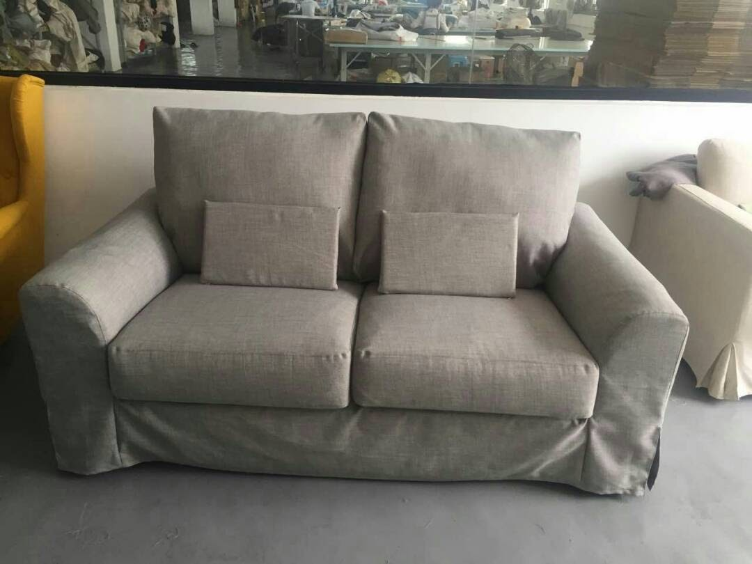 Hacked Tidafors Sofa With Slipcovers