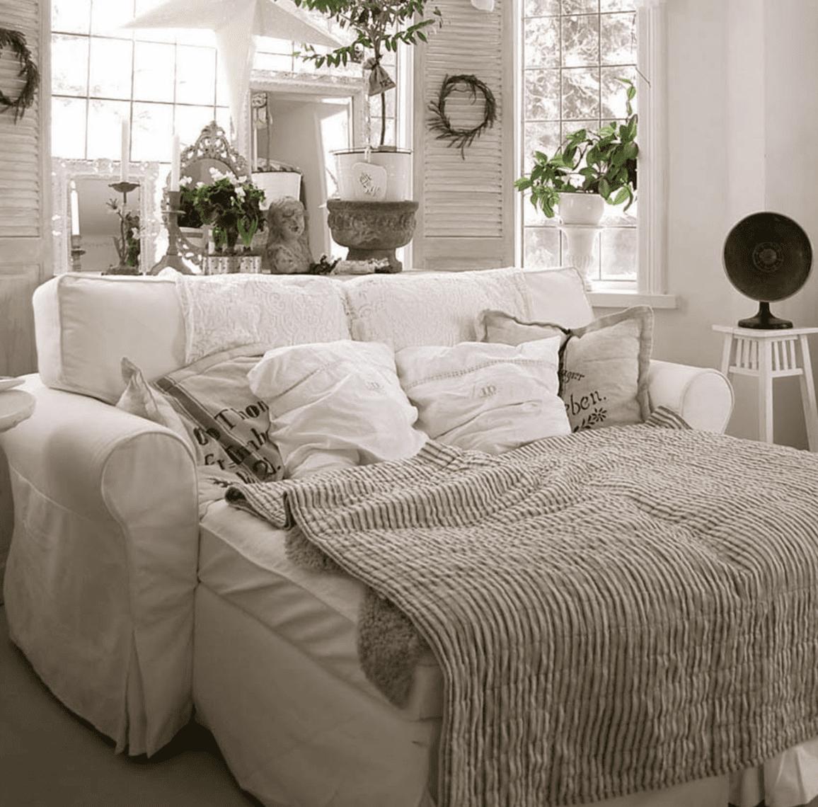 Sofá IKEA Ektorp con funda de Comfort Works