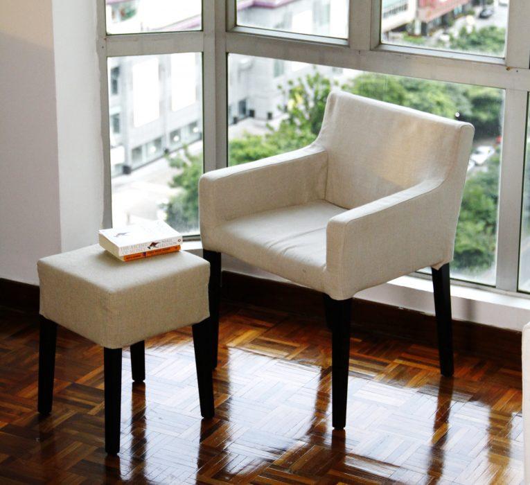 C mo conseguir una funda perfecta para tu silla de for Fundas de sillas ikea