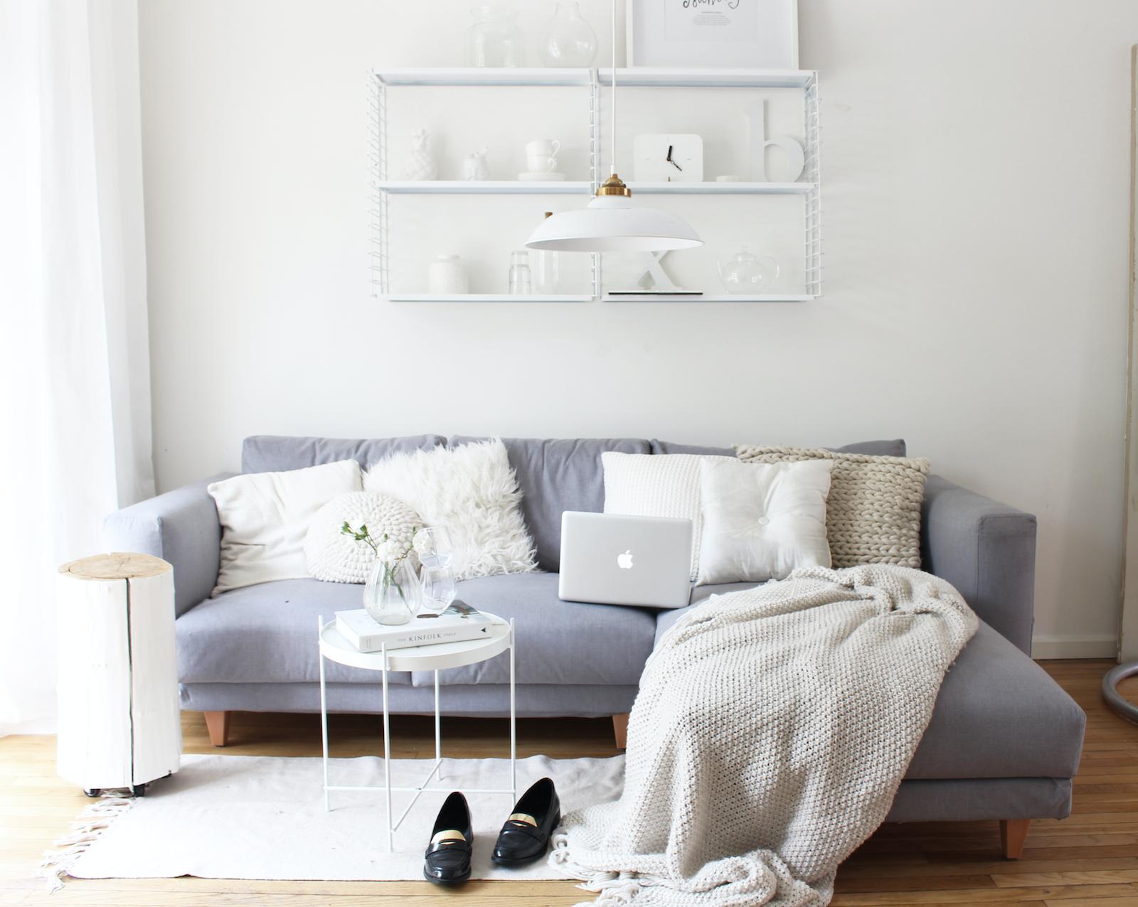Sofá con funda cubre sofá de Comfort Works