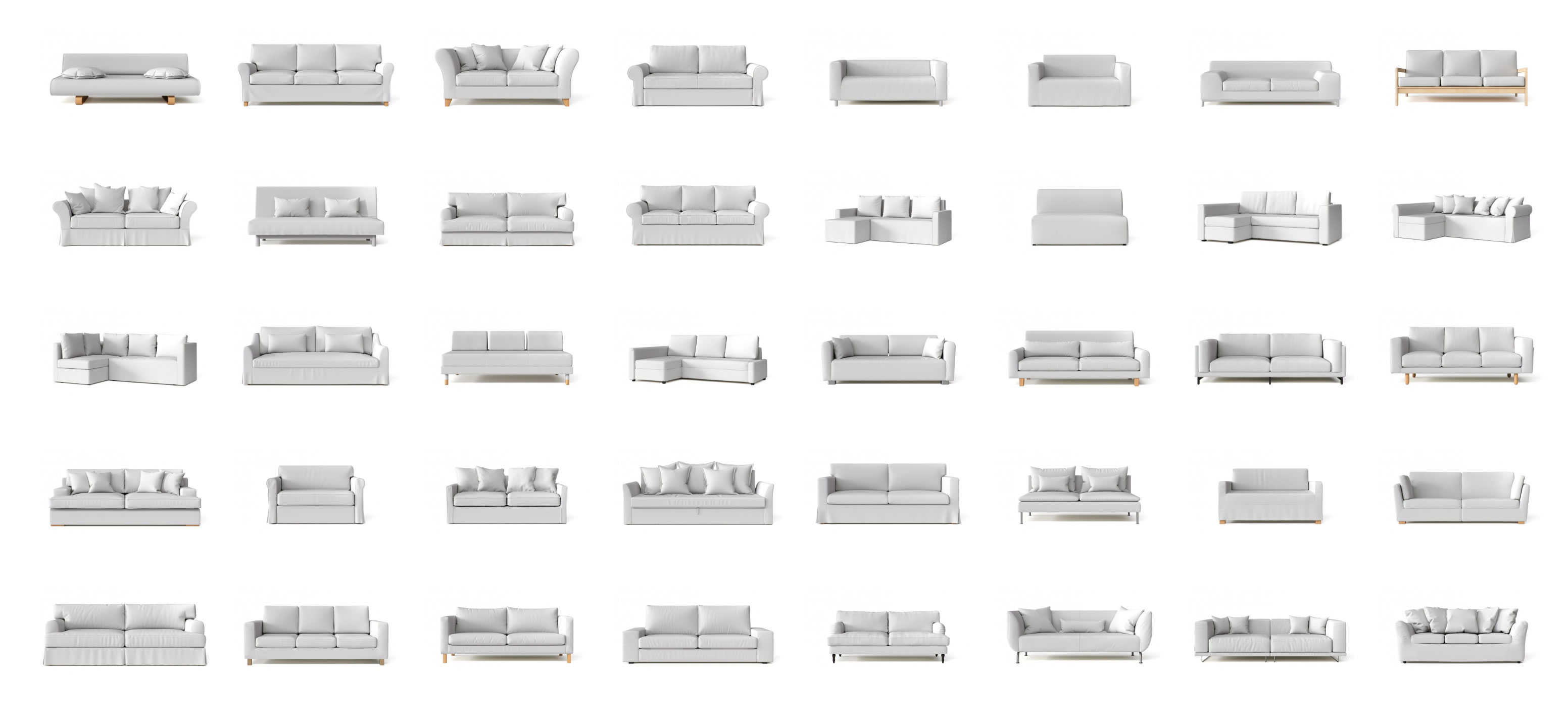 21 Different Types of Sofas and Slipcoverability - What's Mine?
