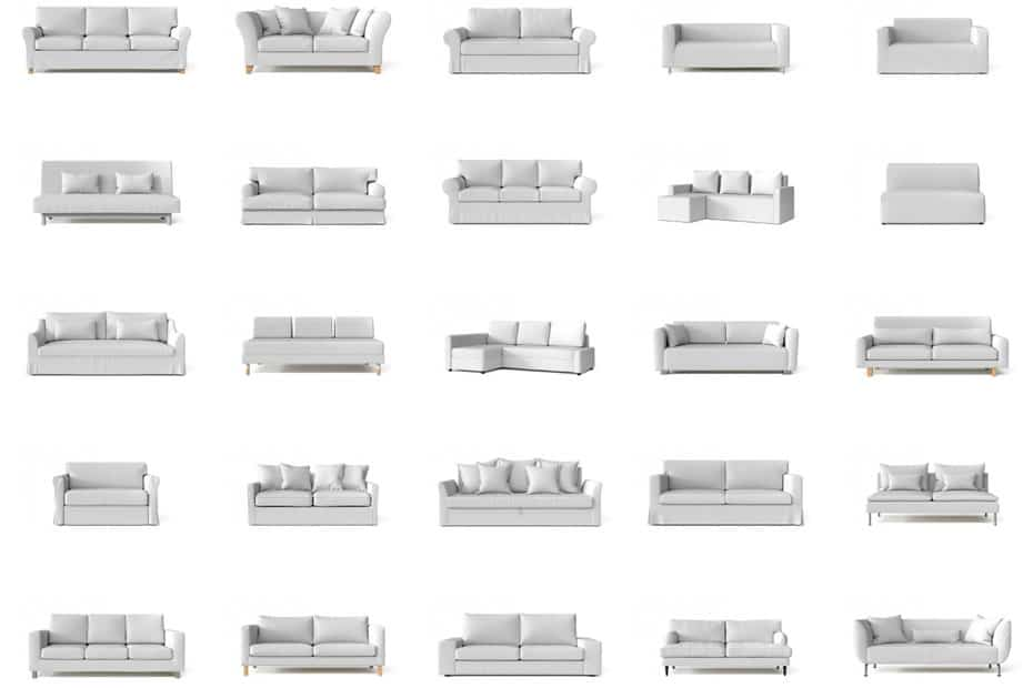 21 Diffe Types Of Sofas And