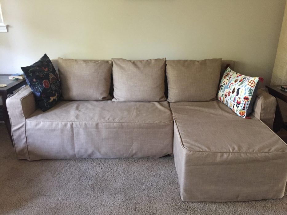 ikea lugnvik sofa bed review distasteful but practical. Black Bedroom Furniture Sets. Home Design Ideas