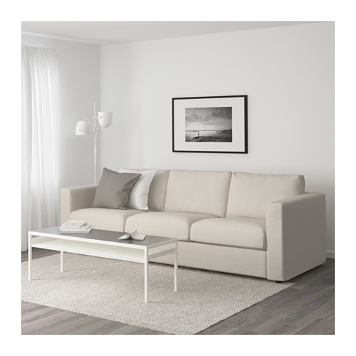 Living Room With IKEA Vimle 2 Seater Sofa In Gunnared Beige