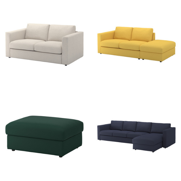 Strange Reviewing The Ikea Vimle Sofa A New Bestseller Comfort Download Free Architecture Designs Lukepmadebymaigaardcom