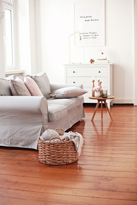 Sofá Ektorp de IKEA con una Funda Comfort Works, la tela es Shire Steel