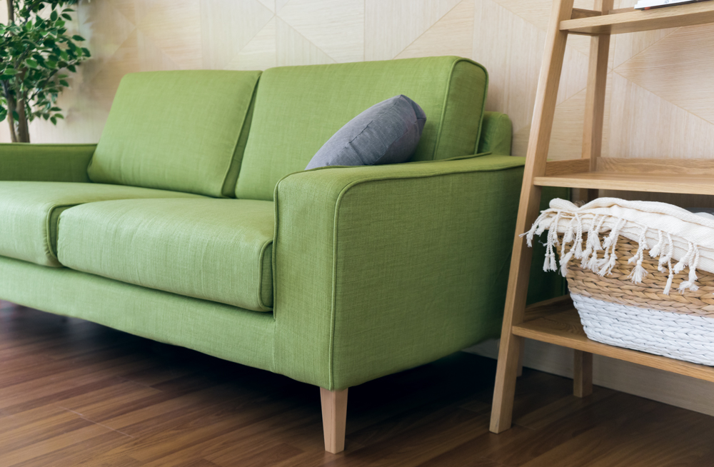 Muji Wide Arm Sofa In Comfort Works Kino Willow Slipcover