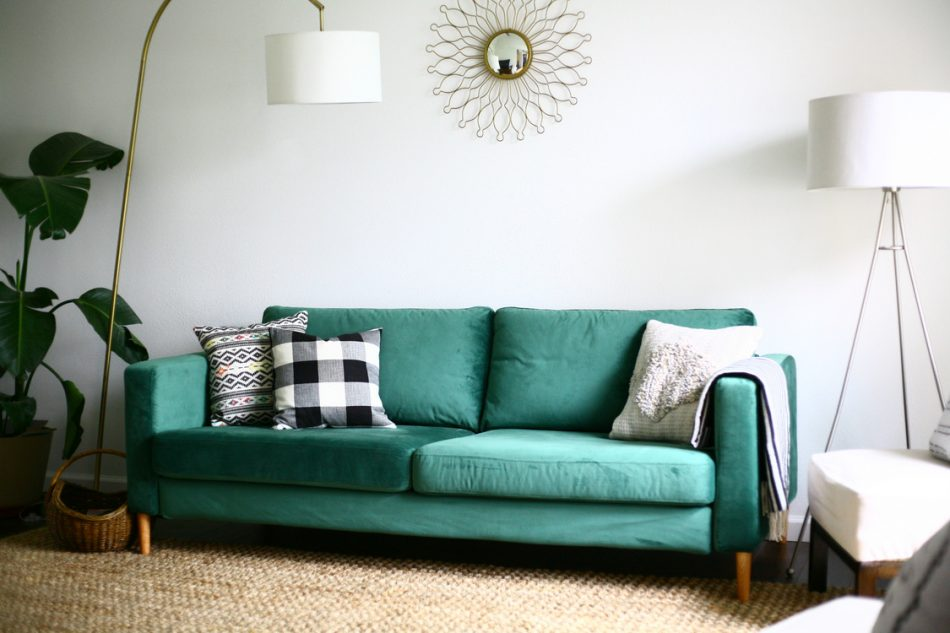 Green Sofas: Are They A Monstrosity Or Avant Garde?