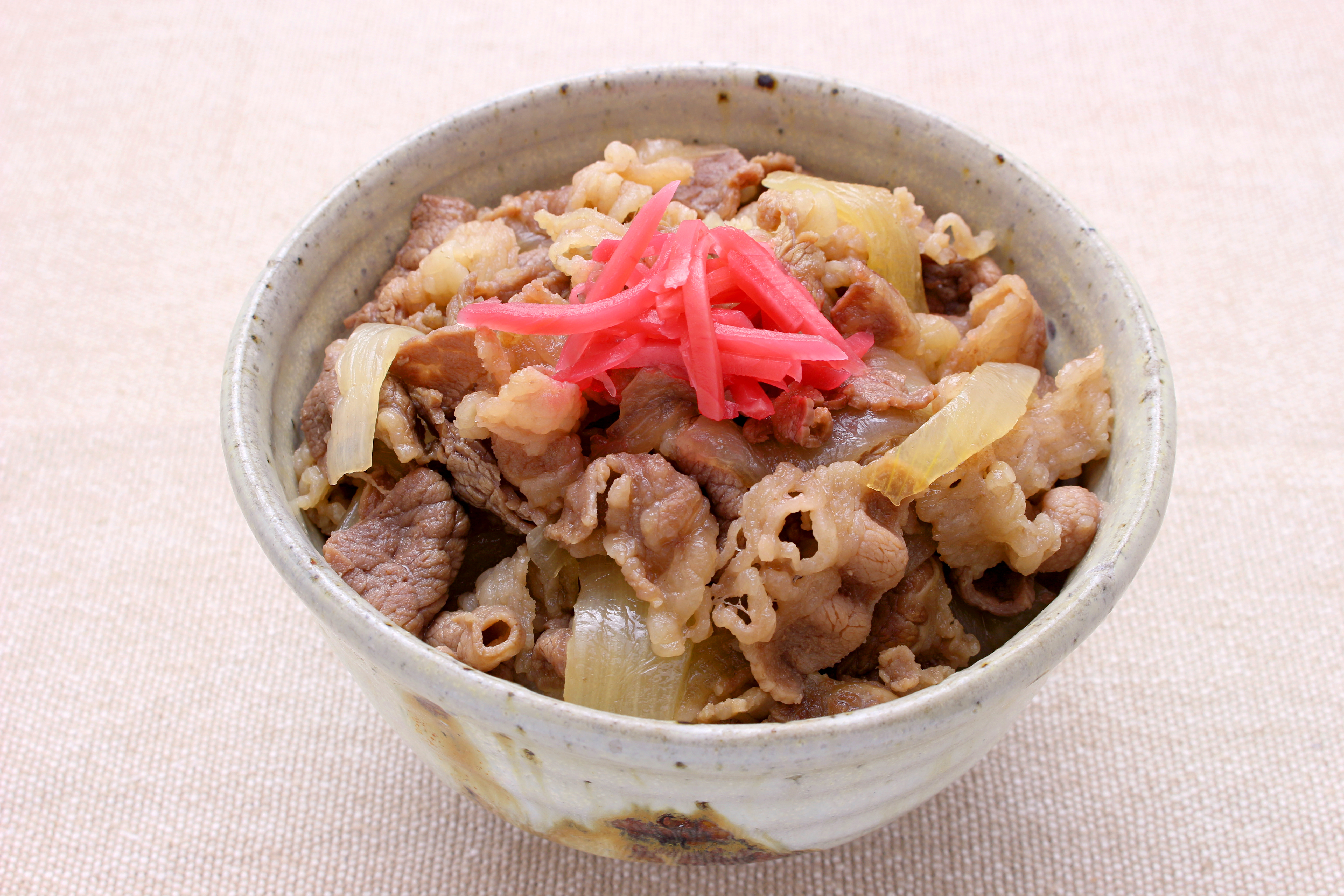 Gyudon for mothers day 2018