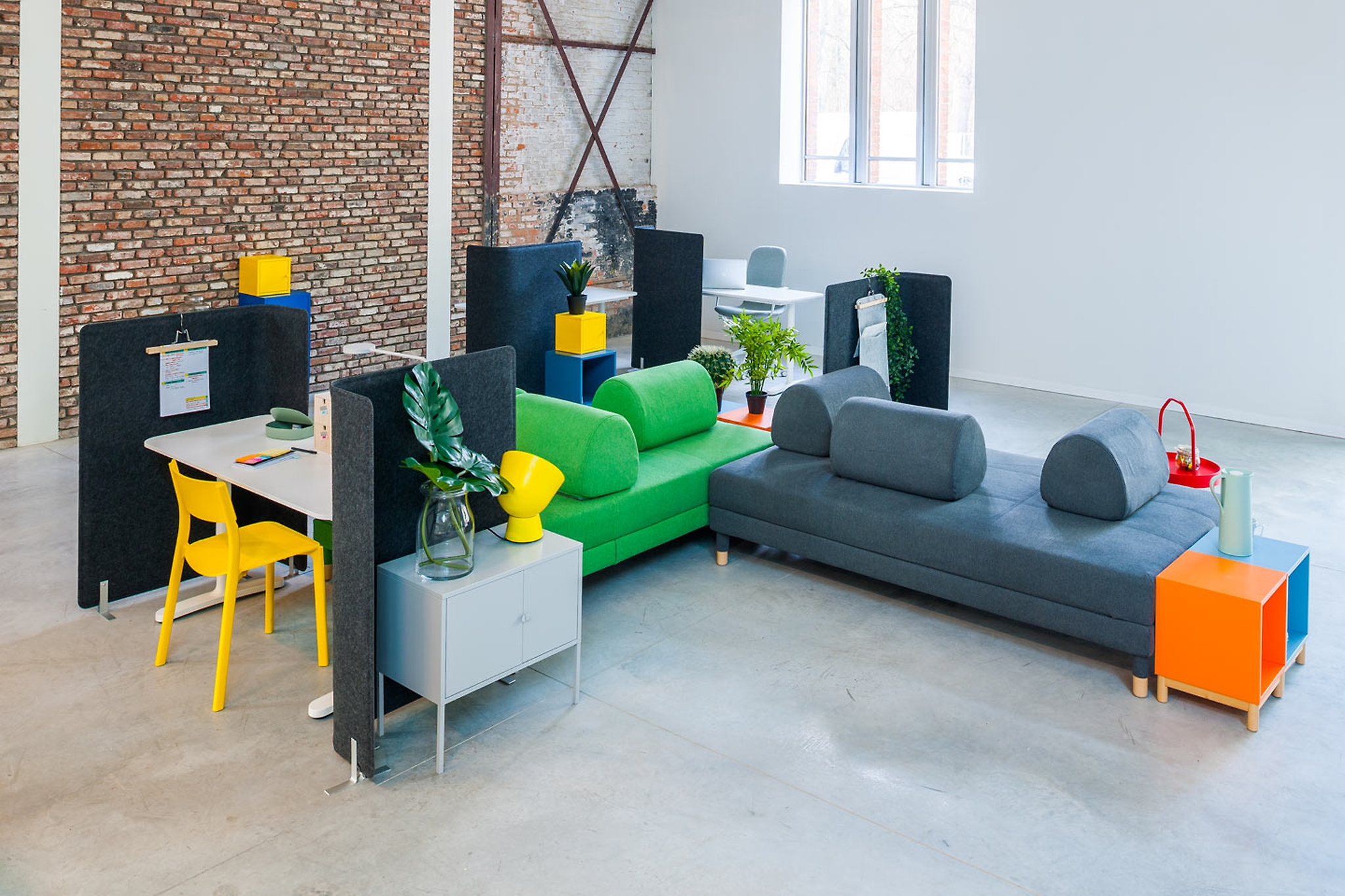 Office Decor with Flottebo Sofa Bed