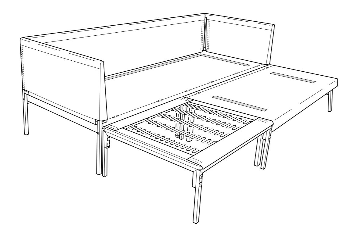 IKEA Bomsund frame for Sandback/Brathult