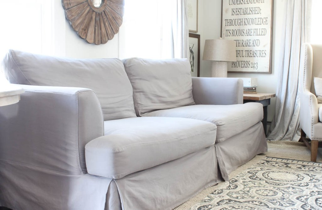 Birch Lane Clausen Sofa in Gaia Fog