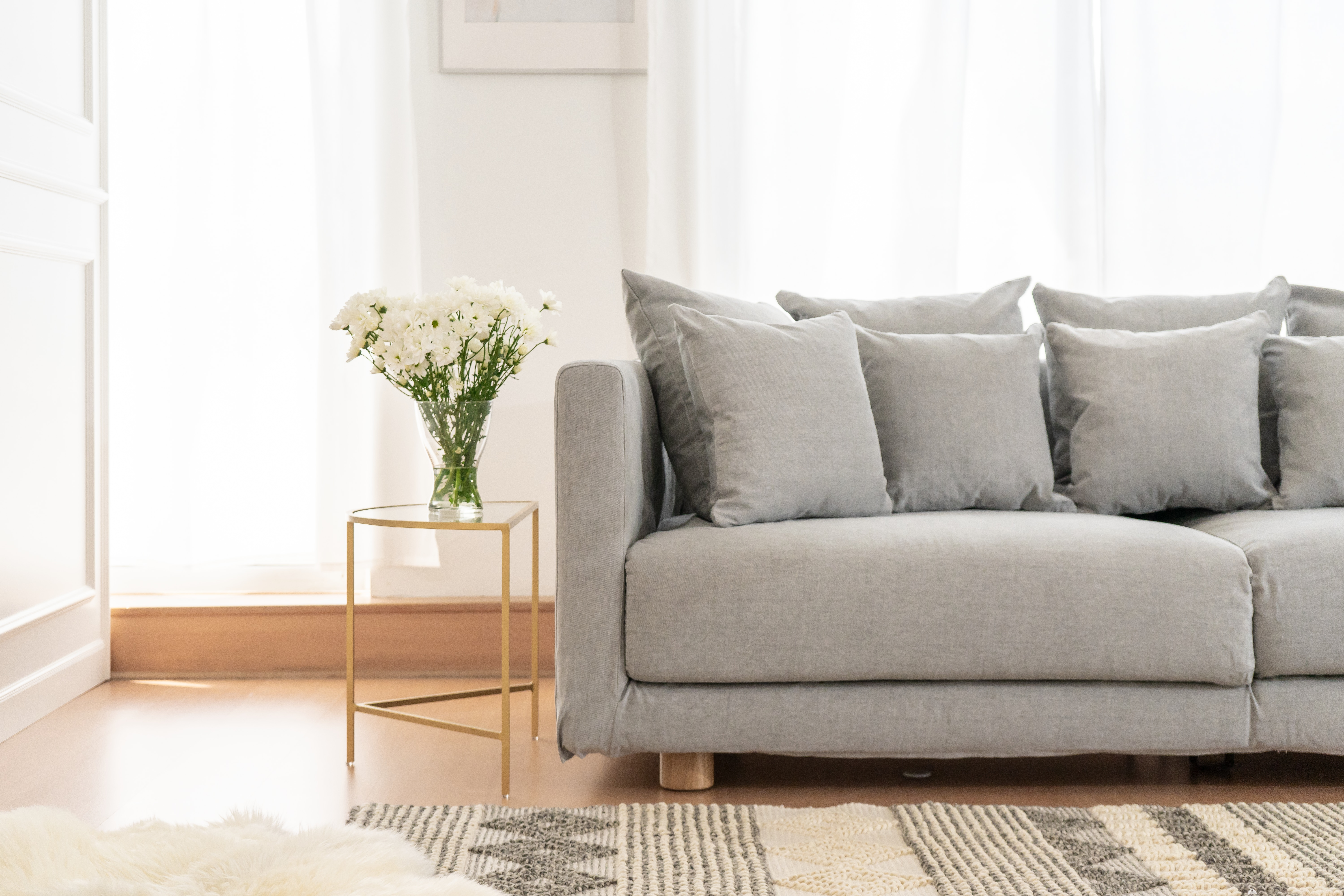 IKEA Stockholm 2017 in Madison Ash slipcover