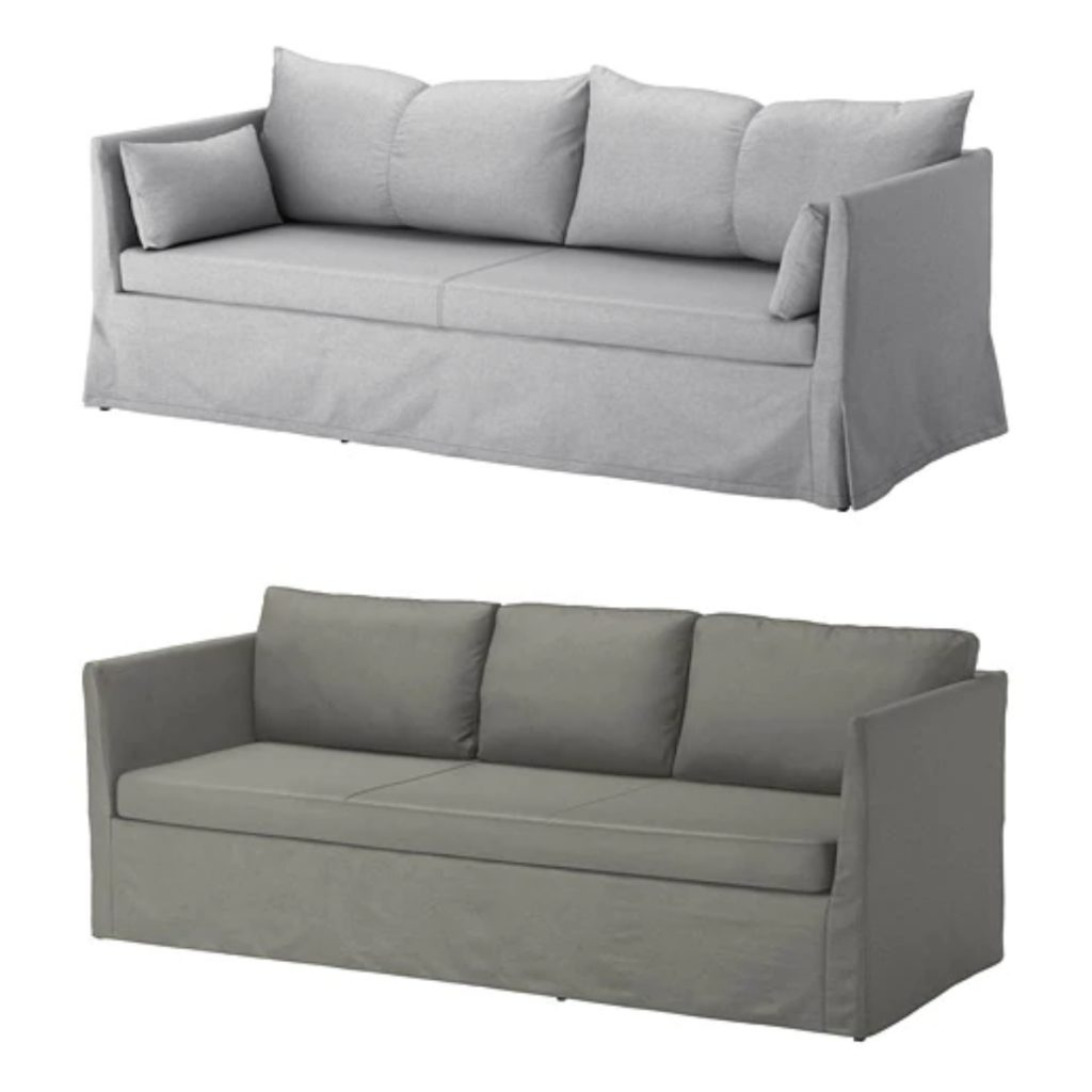 Ikea Sandbacken and Brathult 3 seater sofa