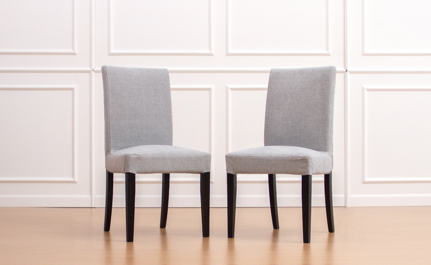 IKEA Henriksdal in Madison Ash Dining Chair Covers