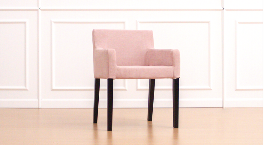 IKEA Nils in Madison Rose Dining Chair Covers
