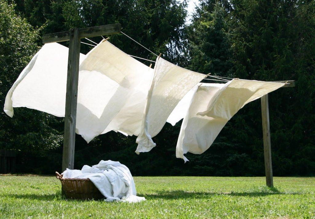Sheets air-drying