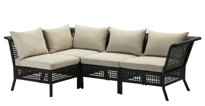 The Complete IKEA Outdoor Sofa Review - Comfort Works Blog ...