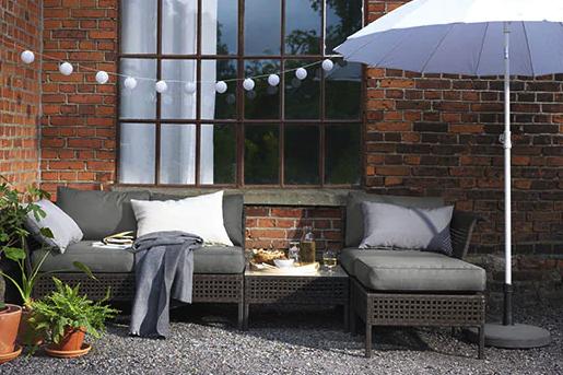 ikea outdoor sofa kungsholmen - Ikea Patio