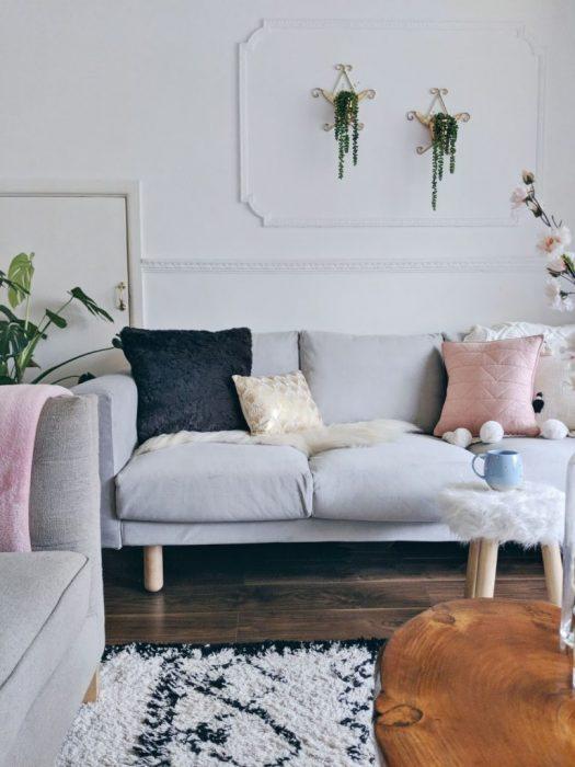 IKEA Norsborg Comfort Works covers in Grey Velvet