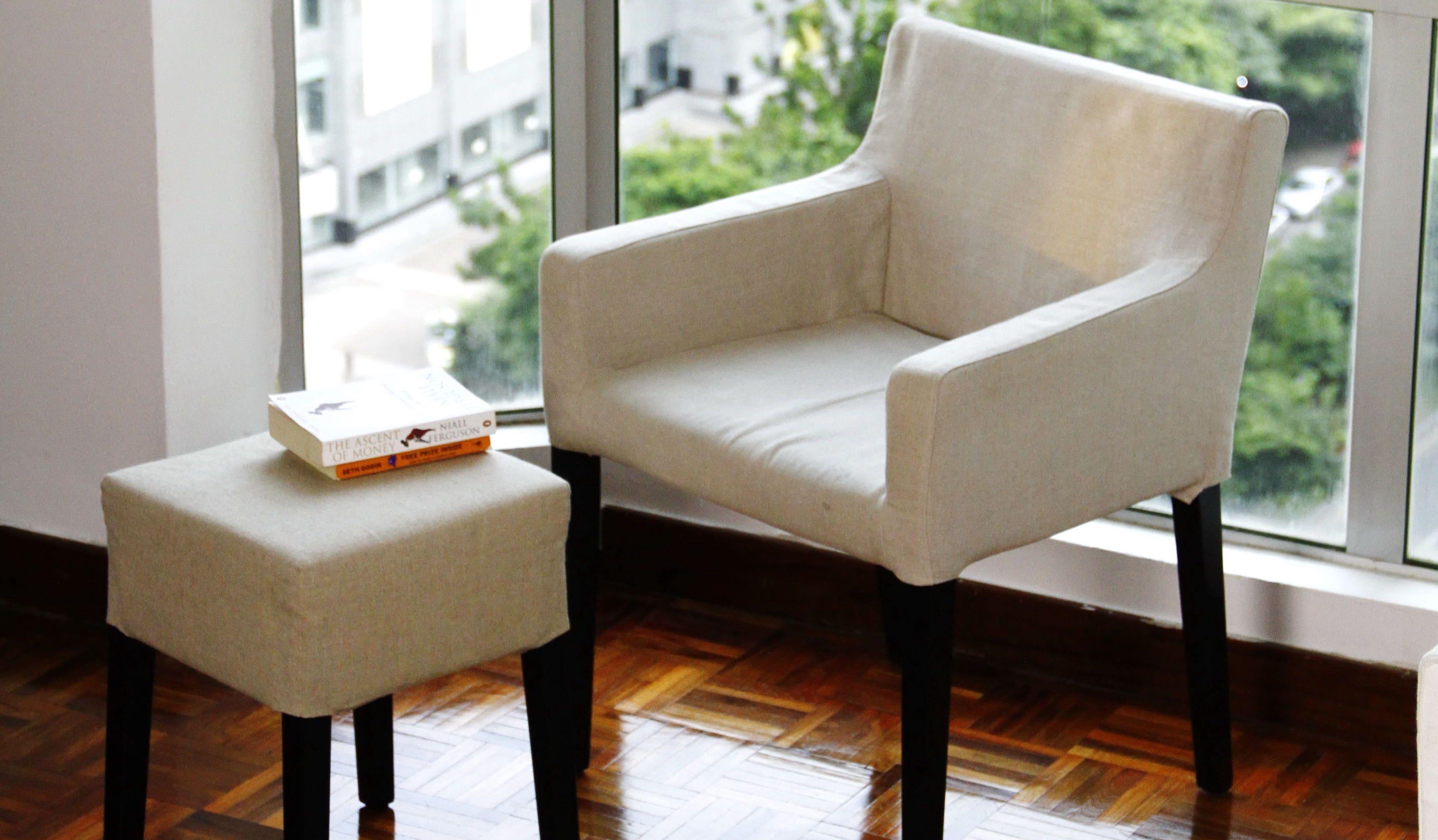 Transformez vos vieilles chaises avec de nouvelles housses