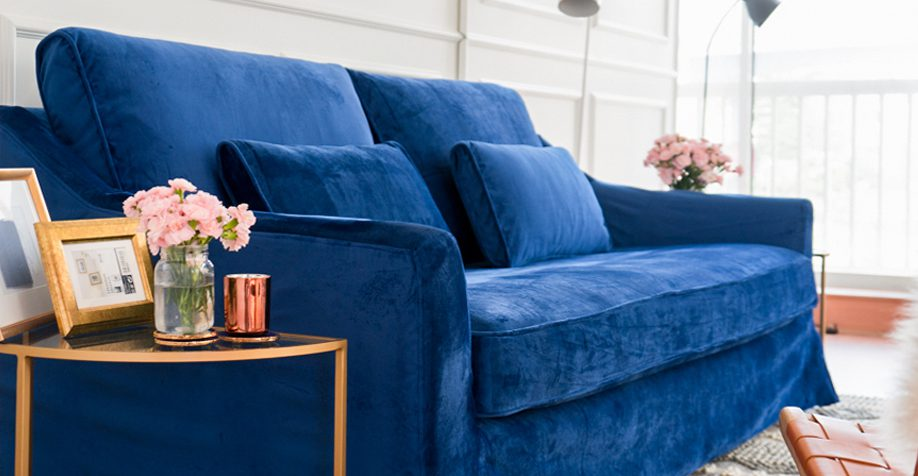 Comfort Works - Velvet Sofa Covers Online