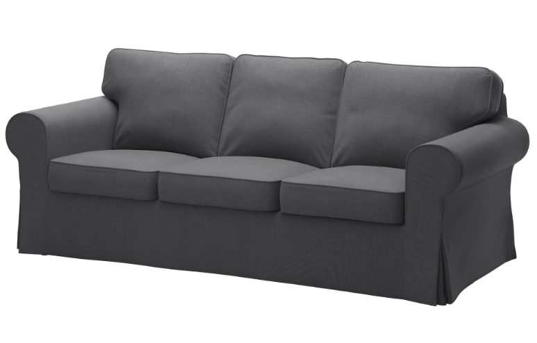 IKEA Ektorp - Nordvalla Dark Grey