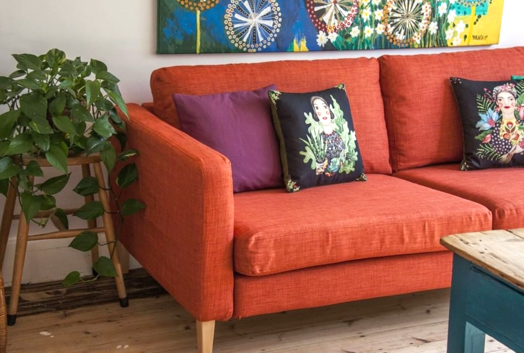 How To Decorate Your Home On A Budget - Revive Sofa