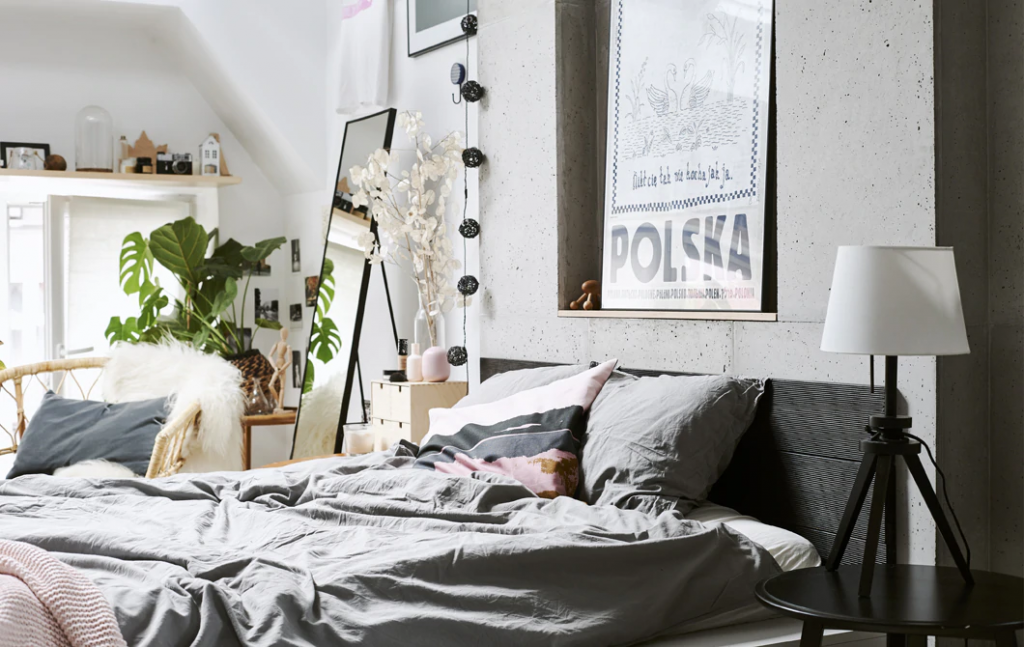 The Perfect Bedroom, Courtesy Of IKEA: A comfy bed.