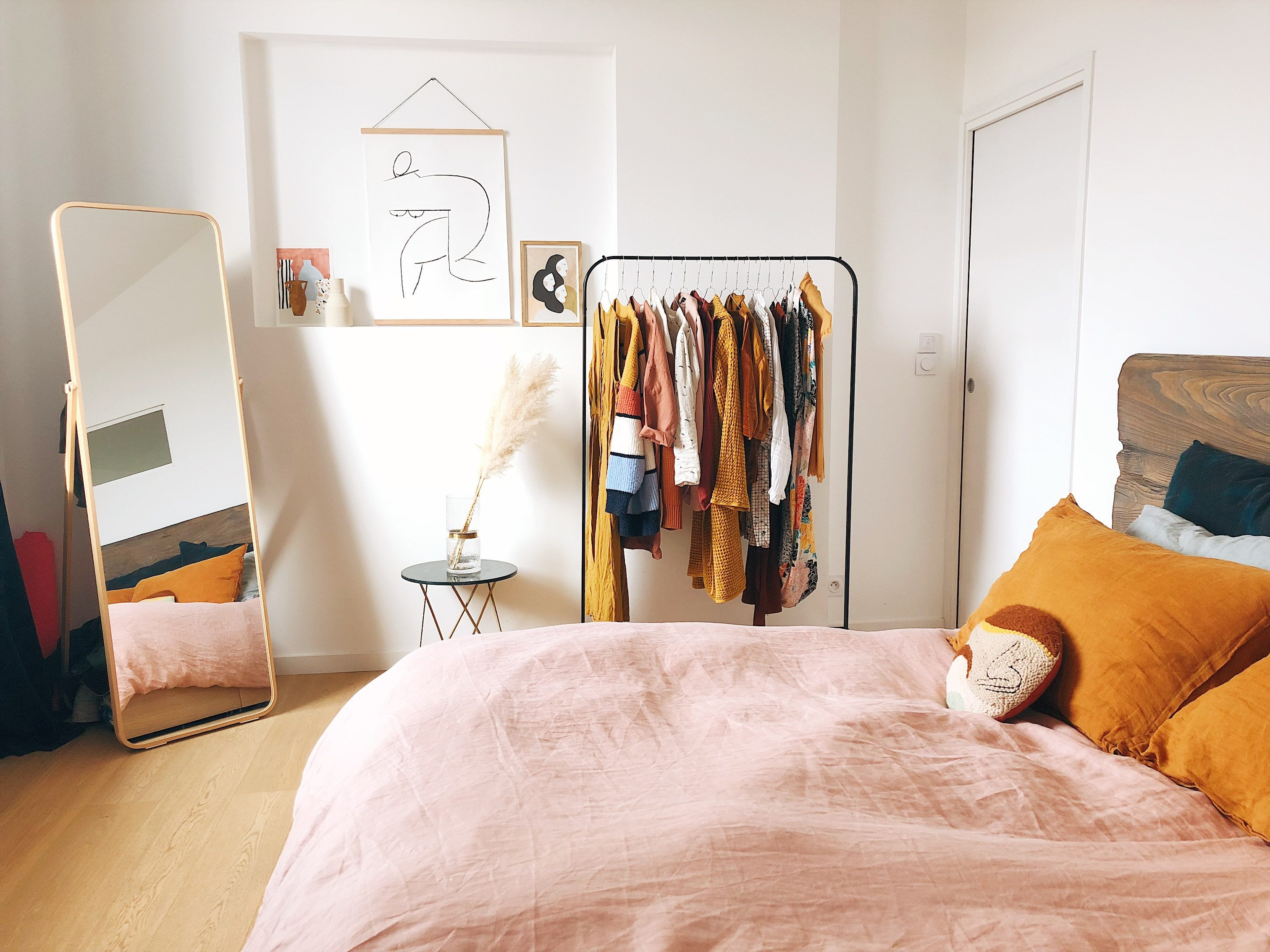 These Ingenious IKEA Hacks Will Help Clear Out Your Bedroom Clutter Once And For All