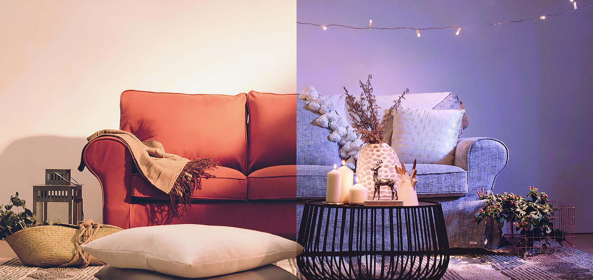 Fibras naturales o fibras sintéticas: ¿qué es mejor para mis fundas de sofá?