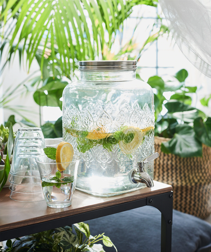 Here's what you need to put together a memorable spring party.  (IKEA FÖRFRISKNING )