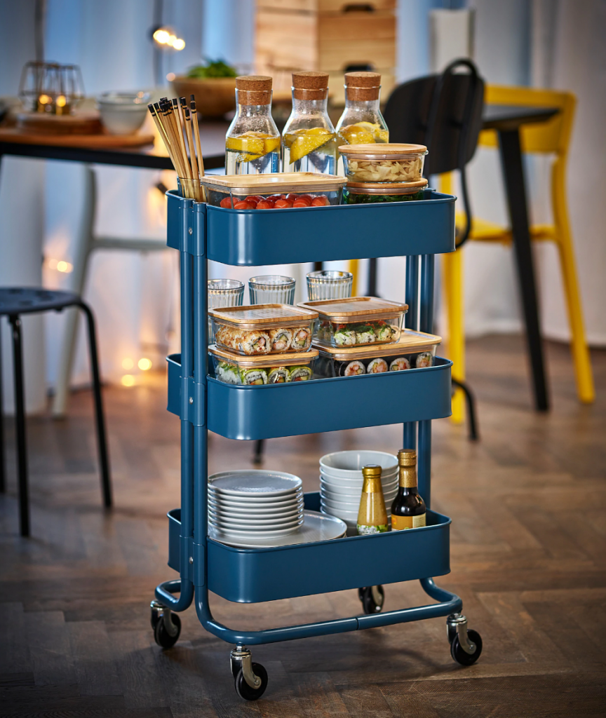 Here's what you need to put together a memorable spring party. (IKEA RASKOG)