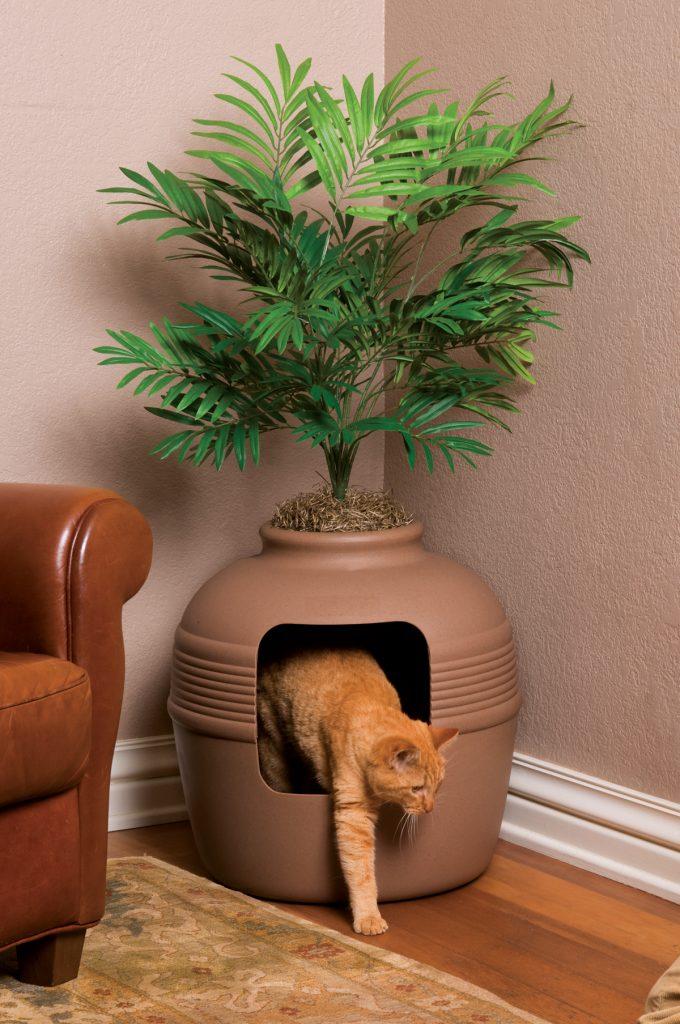The Best Hidden Cat Litter Boxes