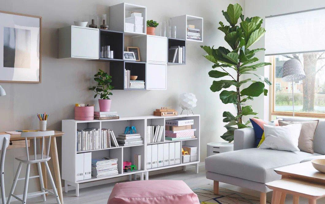 IKEAの力で家をリッチにランクアップする方法(観葉植物)