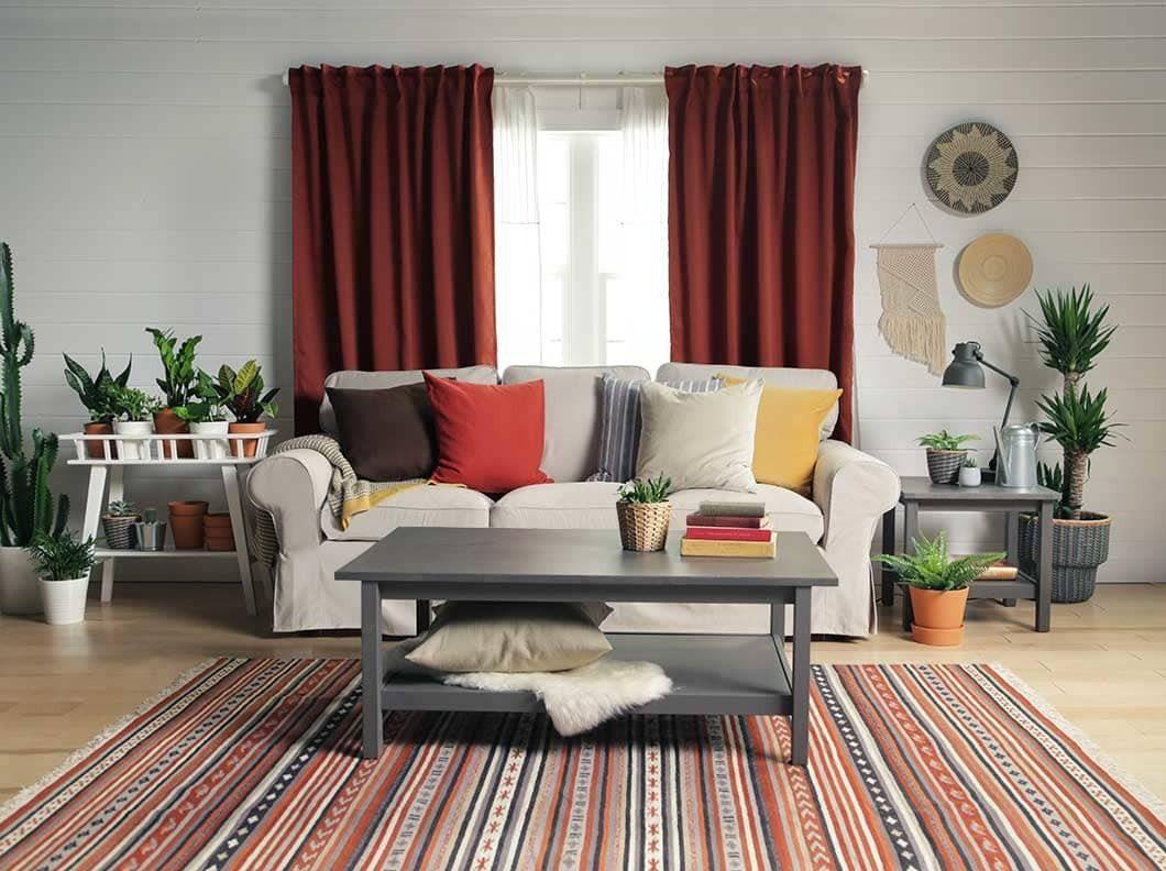IKEAの力で家をリッチにランクアップする方法(クッション)