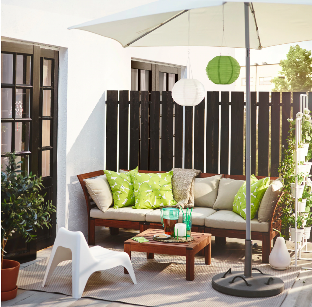 These Outdoor Finds From IKEA Make Any Backyard Look Truly Magical (ÄPPLARÖ)