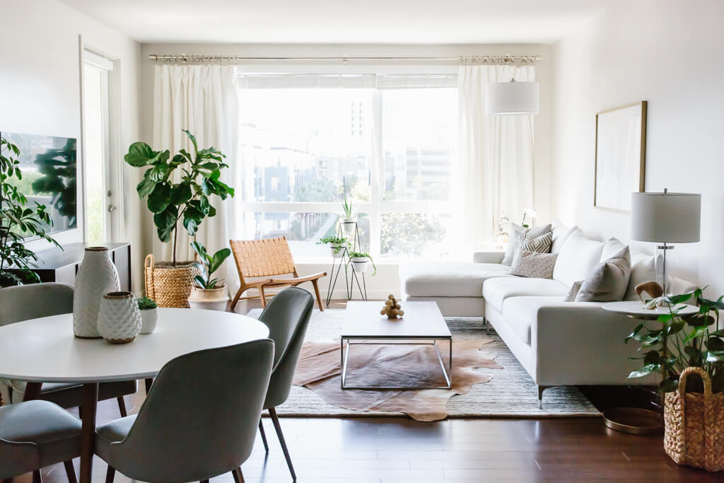 Steal This Look: Minimalist Living Rooms