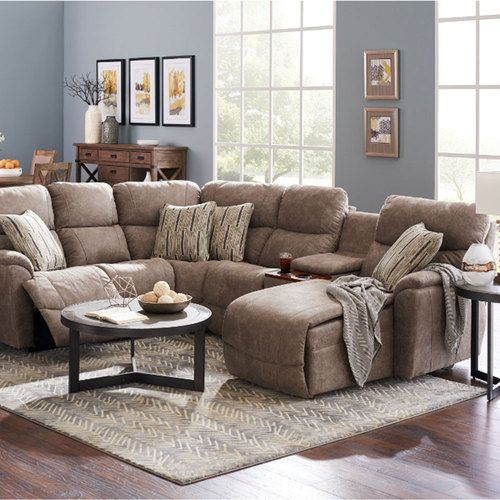La-Z-boy powered recliner sectional sofa. It has all the bells and whistles.