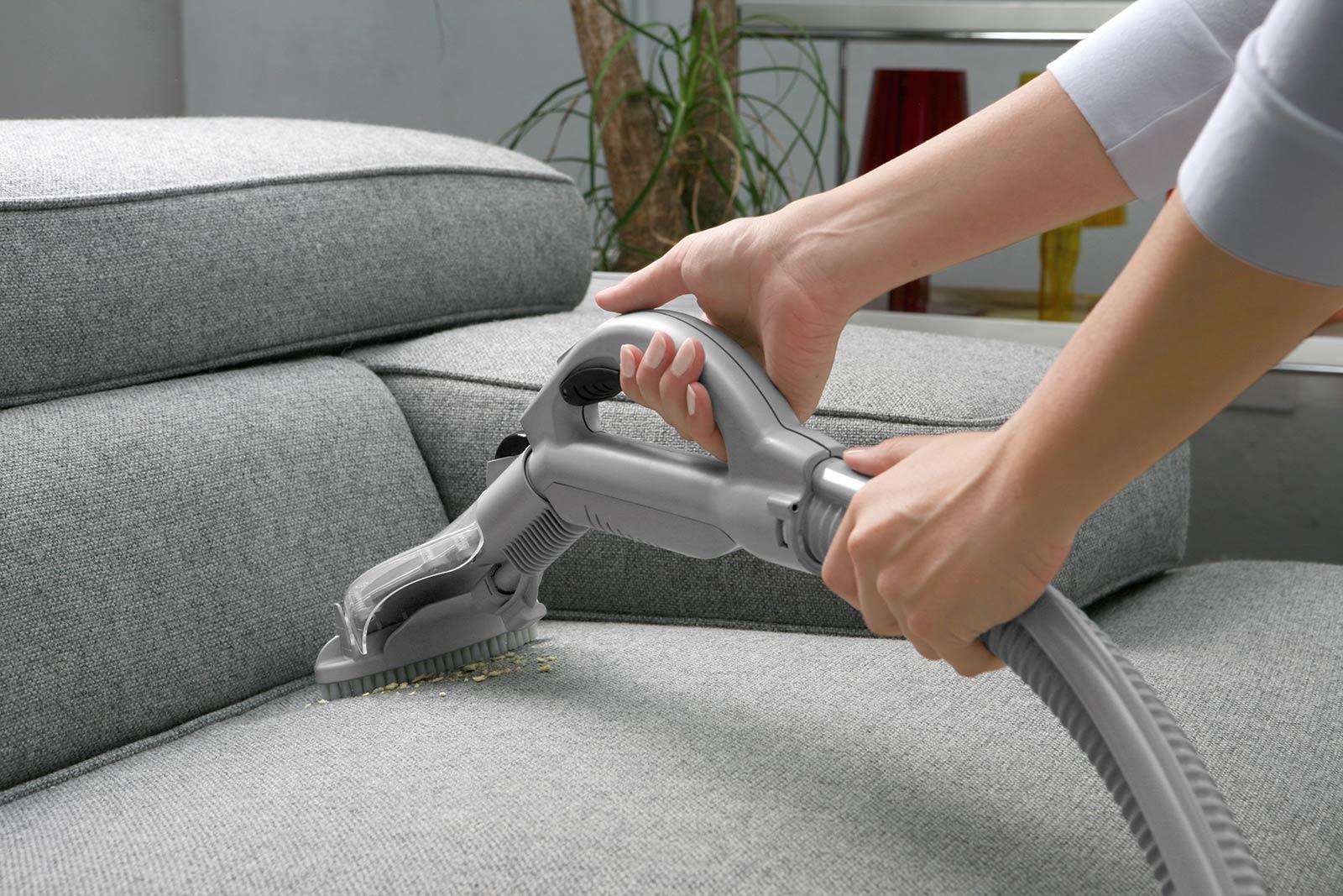 布張りソファの掃除方法